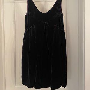 Jill Stuart Purple Velvet Dress